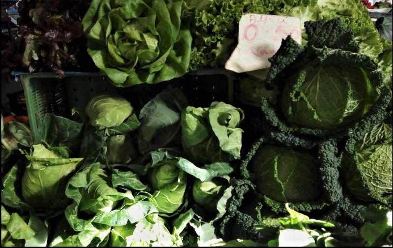 Gezonde groene groenten