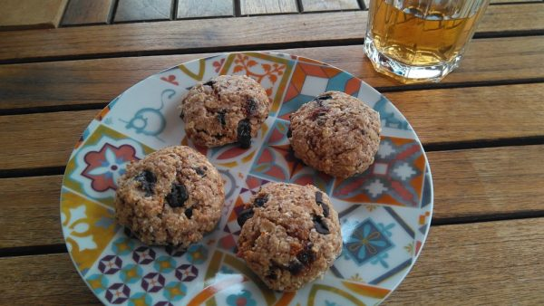 Flapjack koekjes
